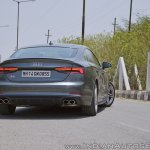 Audi S5 review rear angle view