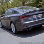 Audi S5 review rear motion shot tilt
