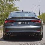 Audi S5 review rear view