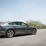 Audi S5 review side rear angle