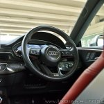 Audi S5 review steering wheel