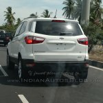 Ford EcoSport 4WD spotted testing rear angle