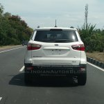 Ford EcoSport 4WD spotted testing rear