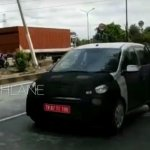Hyundai AH2 (new Hyundai Santro) spy shot