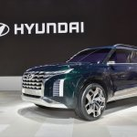 Hyundai HDC-2 Grandmaster SUV concept front three quarters