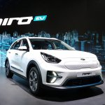 Kia Niro EV front three quarters right side