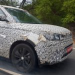 Mahindra S201 Ssangyong Tivoli based Ford EcoSport competitor test mule front