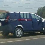 Mahindra U321 MPV spotted on Mumbai Nashik highway side angle