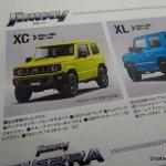 New 2019 Suzuki Jimny XC features