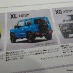 New 2019 Suzuki Jimny XL features