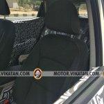 Production Mahindra S201 interior front seats spy shot
