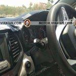 Production Mahindra S201 interior spy shot