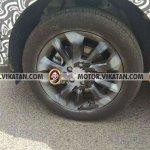 Production Mahindra S201 wheel spy shot