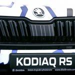 Skoda Kodiaq RS (Skoda Kodiaq vRS) radiator grille teaser