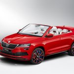 Skoda Sunroq front three quarters