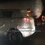 SsangYong Tivoli based Mahindra S201 spy shot side angle