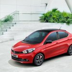 Tata Tigor Buzz front three quarters