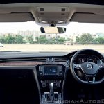 VW Passat review dashboard