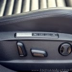 VW Passat review electrically adjustable seat