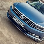 VW Passat review nose
