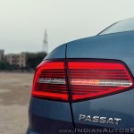 VW Passat review tail light