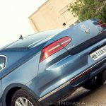 VW Passat review tail