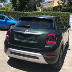 2018 Fiat 500X Cross Look (facelift) rear three quarters
