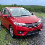 2018 Honda Jazz front three quarters unofficial image