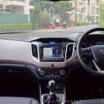 2018 Hyundai Creta facelift review dashboard