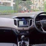2018 Hyundai Creta facelift review dashboard