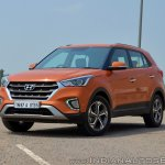 2018 Hyundai Creta facelift review front three quarters