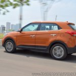 2018 Hyundai Creta facelift review rear angle motion
