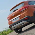 2018 Hyundai Creta facelift review rear section
