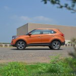 2018 Hyundai Creta facelift review side