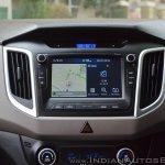 2018 Hyundai Creta facelift review touchscreen