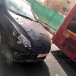 2018 Maruti Ciaz facelift spy picture front end