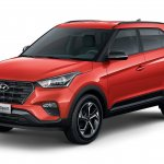 2019 Hyundai Creta Sport front three quarter launched Brazil