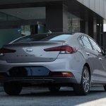 2019 Hyundai Elantra (2018 Hyundai Avante) rear three quarters spy photo