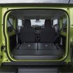 2019 Suzuki Jimny rear space