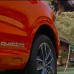 Audi Q3 Design Edition quattro decal