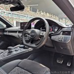 Audi RS5 review dashboard