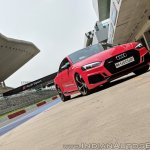 Audi RS5 review front three quarters tilt