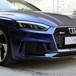 Audi RS5 review nose