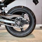 BMW G 310 GS rear alloy