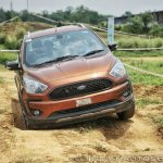 Ford Freestyle off-road chicken holes