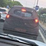 Hyundai AH2 (new Hyundai Santro) spy shot rear view