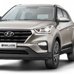 Hyundai Creta 1 million Edition front