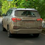 Mahindra Rexton (G4 SsangYong Rexton spied