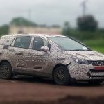Mahindra U321 spy media (Maruti Ertiga:Toyota Innova challenger) spyshot