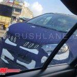 Mahindra U321 spy shot grille and headlight